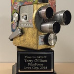 "Terry Gilliam ""Cinema Savant"" award"